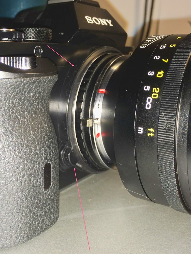 official Sony A7 and A7r light leak fix