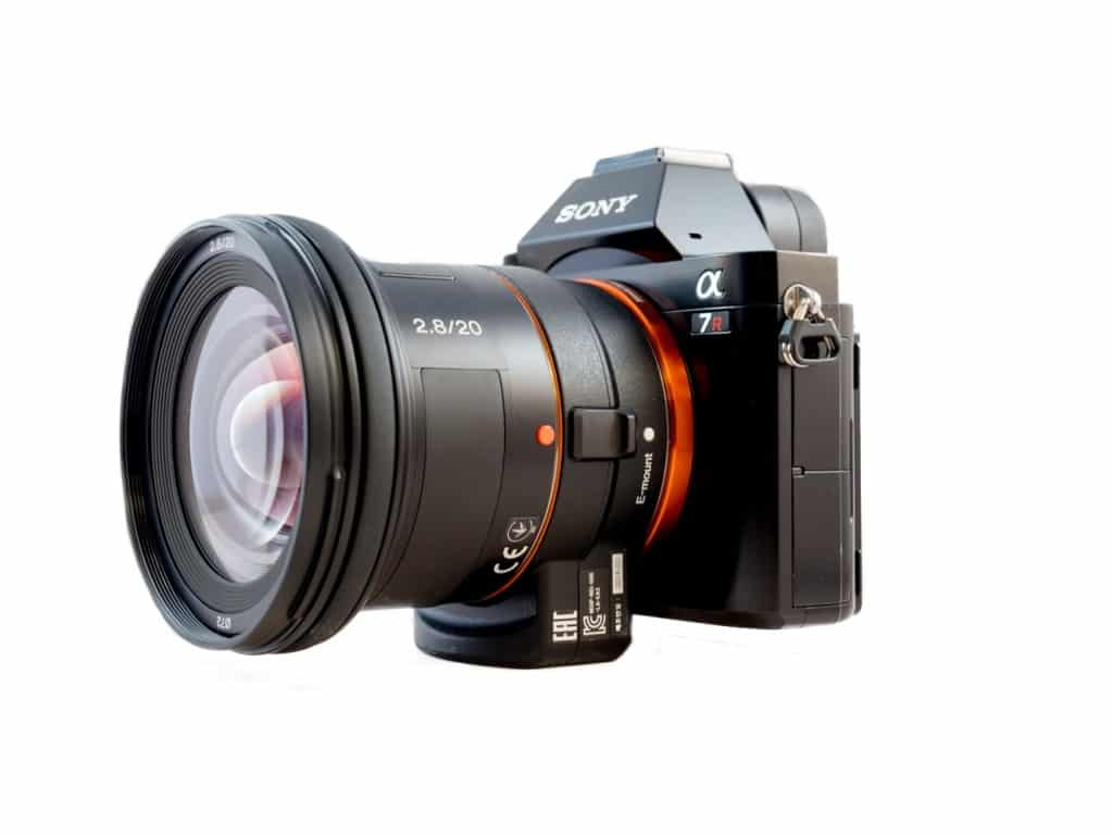Sony 20mm F2.8 A-mount lens