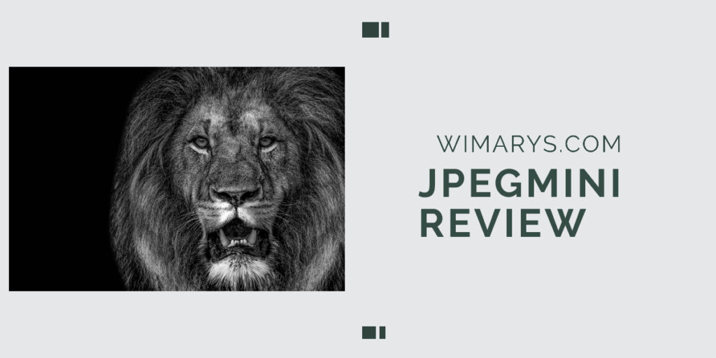 Jpegmini review