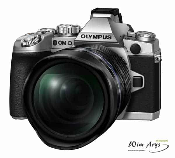 Olympus M5 MK II Body, 7-14mm Lens and an 8mm lens