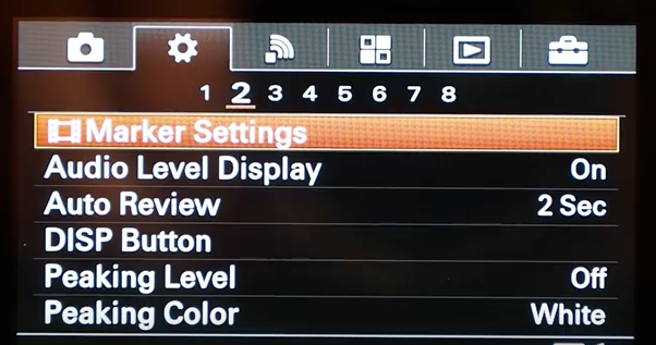 Best Graphics Settings Tips Tricks: Sony A6300: Settings, Tips And Tricks