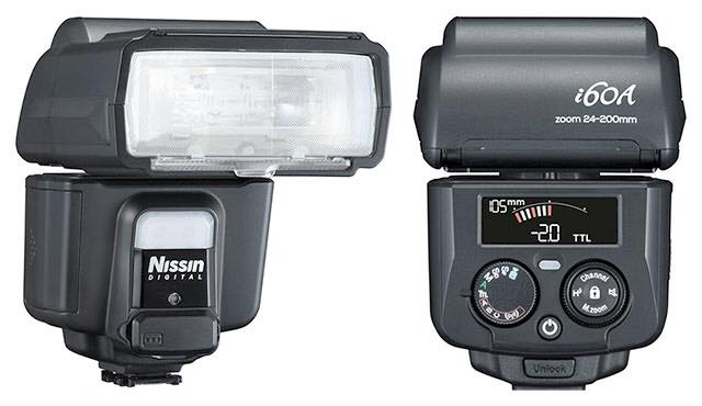 Nissin i60A flash TTL compatible with Fuji XT2 after firmware update