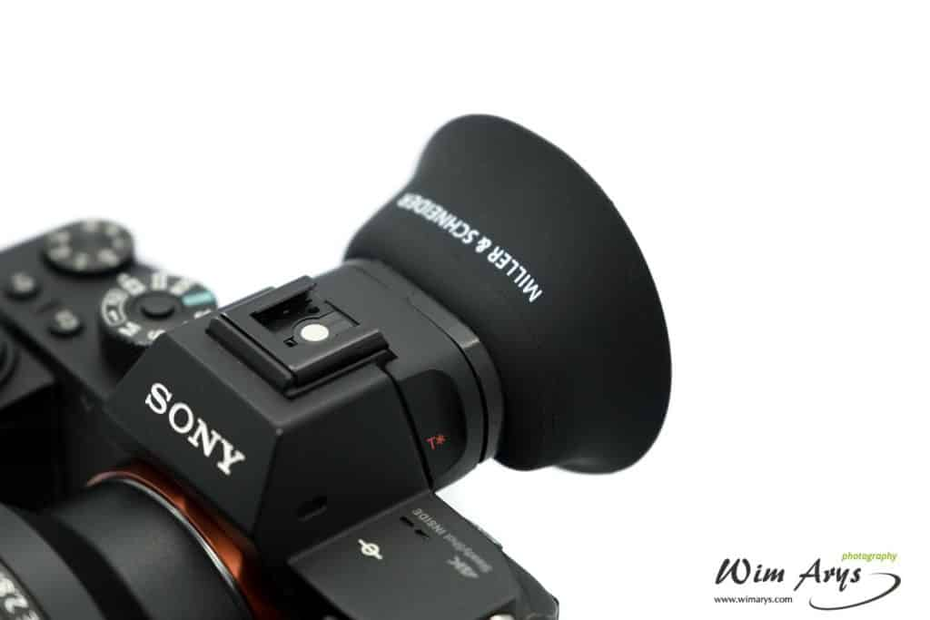 Miller & Shneider eyecup for Sony review