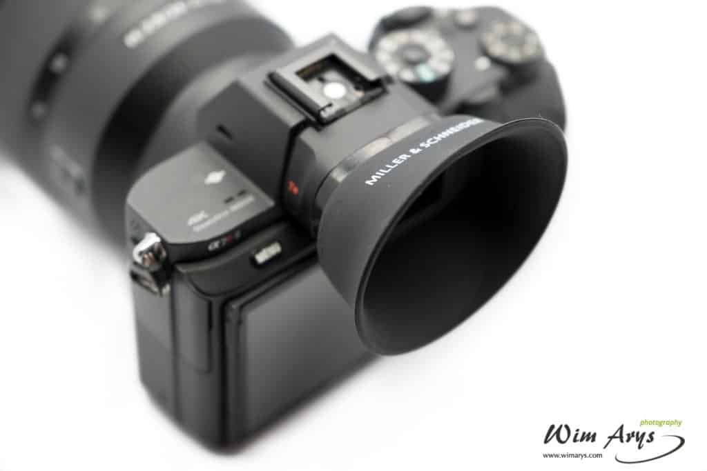 Miller & Shneider eyecup for Sony A7x review