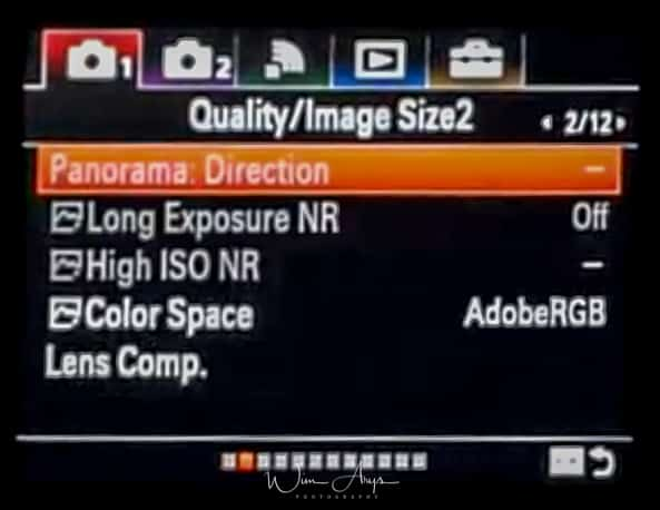 Sony ILCA-99RM2 red camera icon page 2