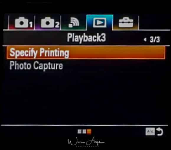Sony ILCA-99RM2 playback icon page 3