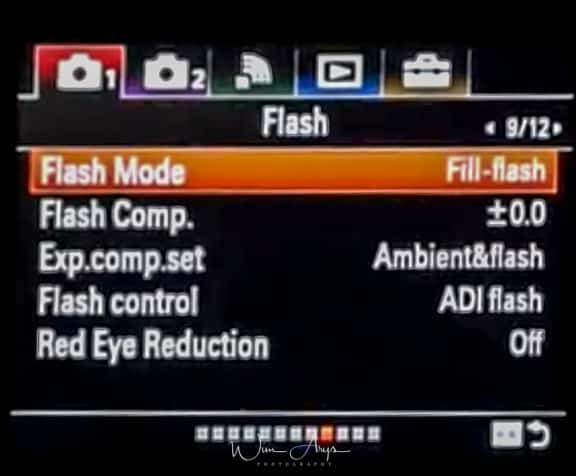 Sony ILCA-99RM2 red camera icon page 9