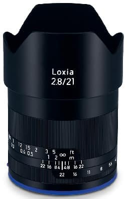 ZEISS Loxia 21mm f/ 2.8