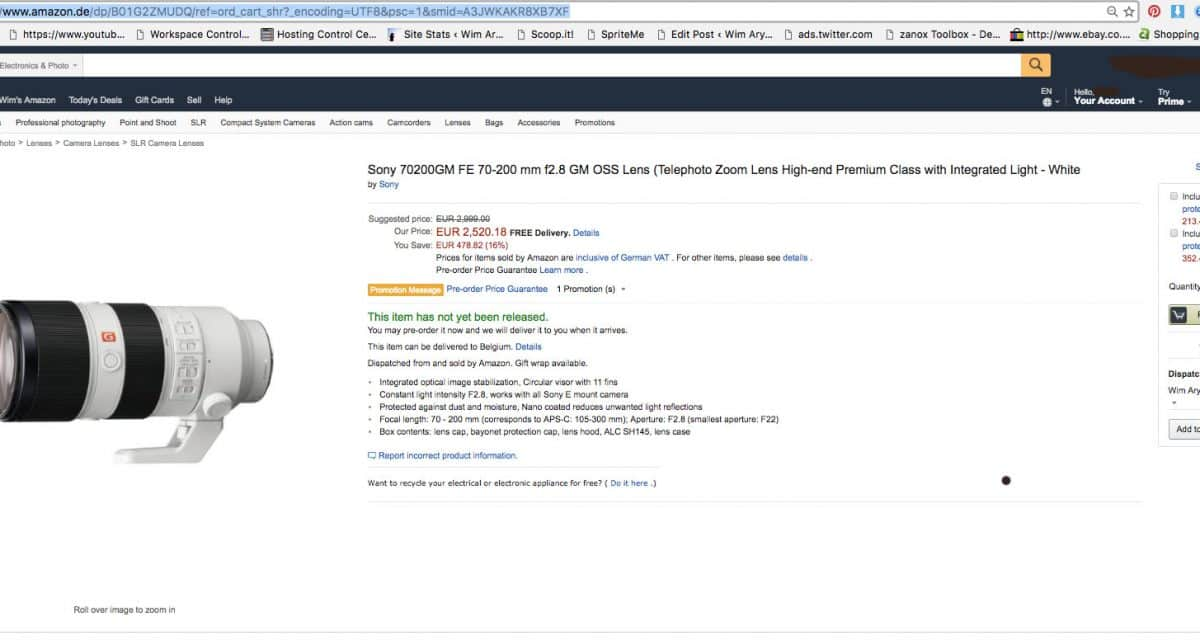 Amazon Europe click and bait practices