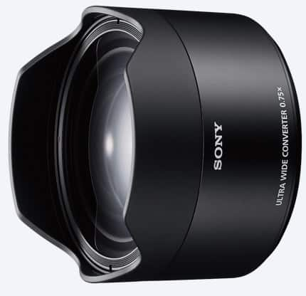 Sony SEL075UWC for SEL28F2