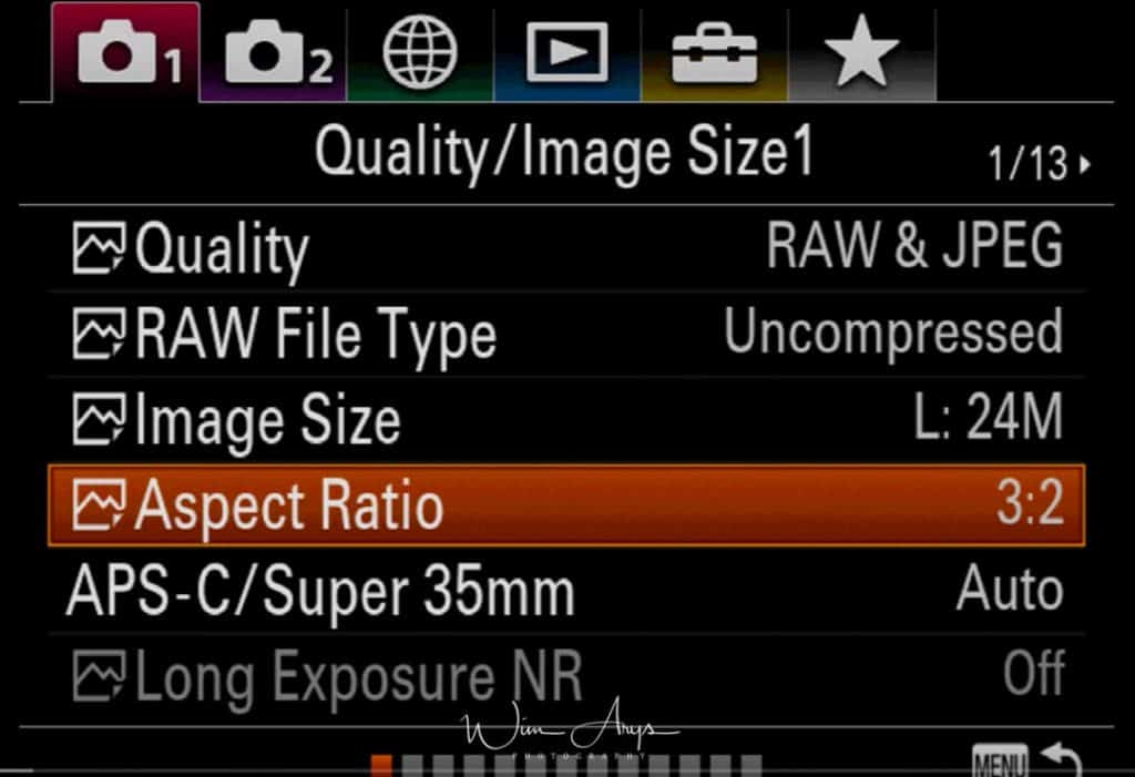 Sony A9 red camera icon page 3