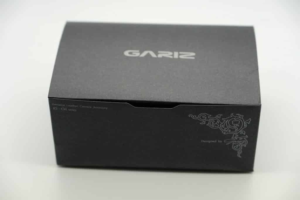 Sony A9 Gariz case packaging