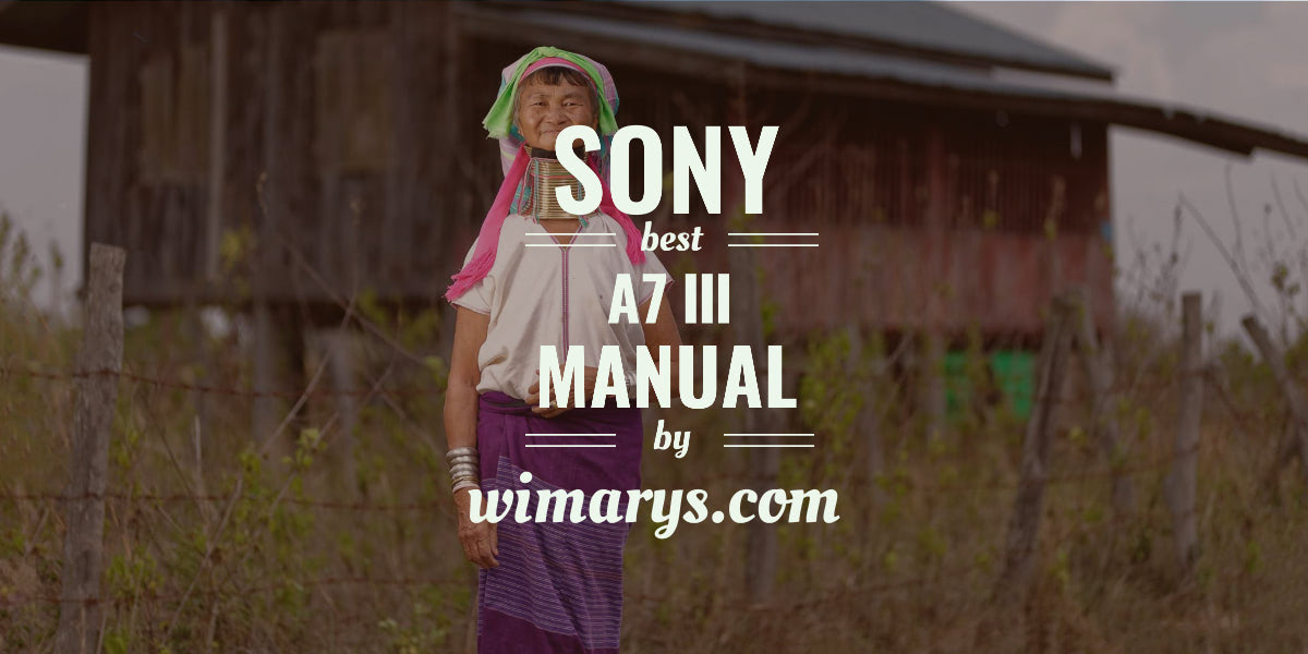 Sony A7III Setup guide with tips and tricks