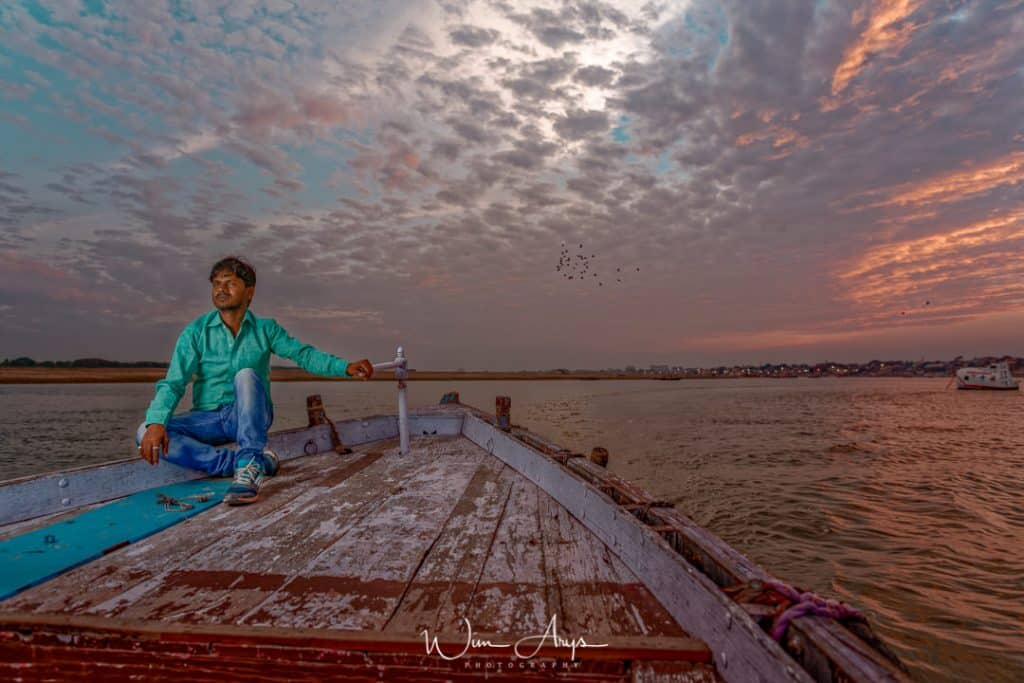 Ganges boat trips for photography, photo tours