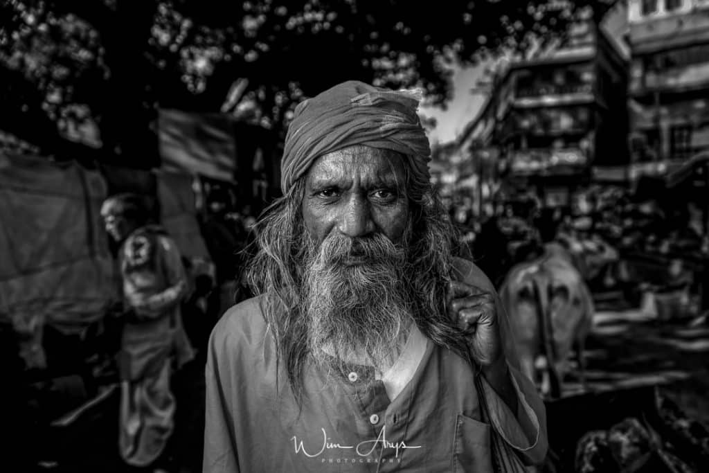 Nikon Z6 example, Wim Arys photography, Varanasi, Sadhu, India