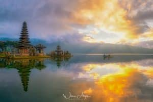 Water Temple, Bali, Indonesia, HDR, Wim Arys photography