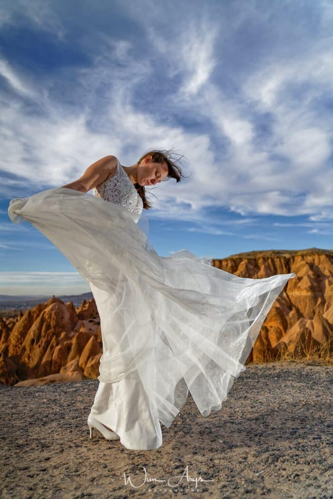 Nikon Z6 example, Cappadocia, Turkey, wedding shoot, flash