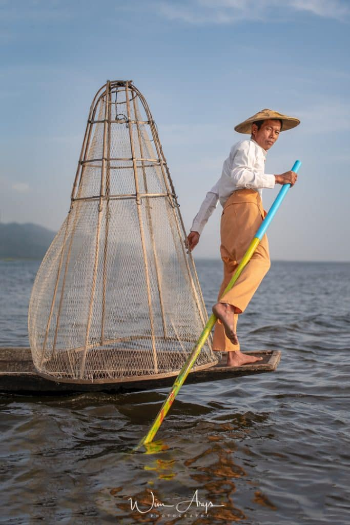 Nikon Z7 sample, Myanmar, Birma, Inne lake, fisherman, Wim Arys Photography