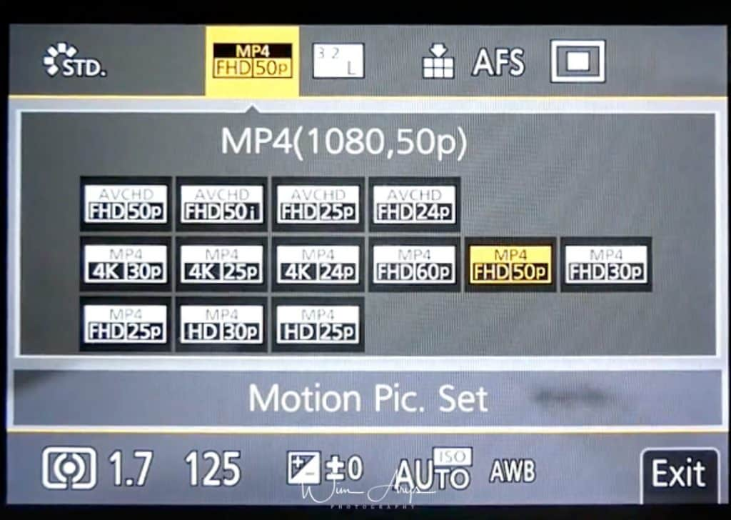 Motion Pic. Set