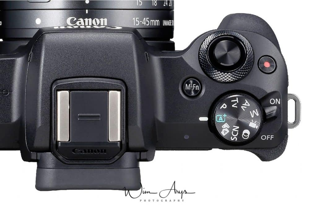Canon EOS M50 customisable buttons