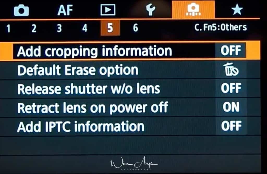 C. Fn5: Other Settings
