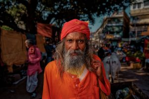 Young Sadhu, Varanasi, India