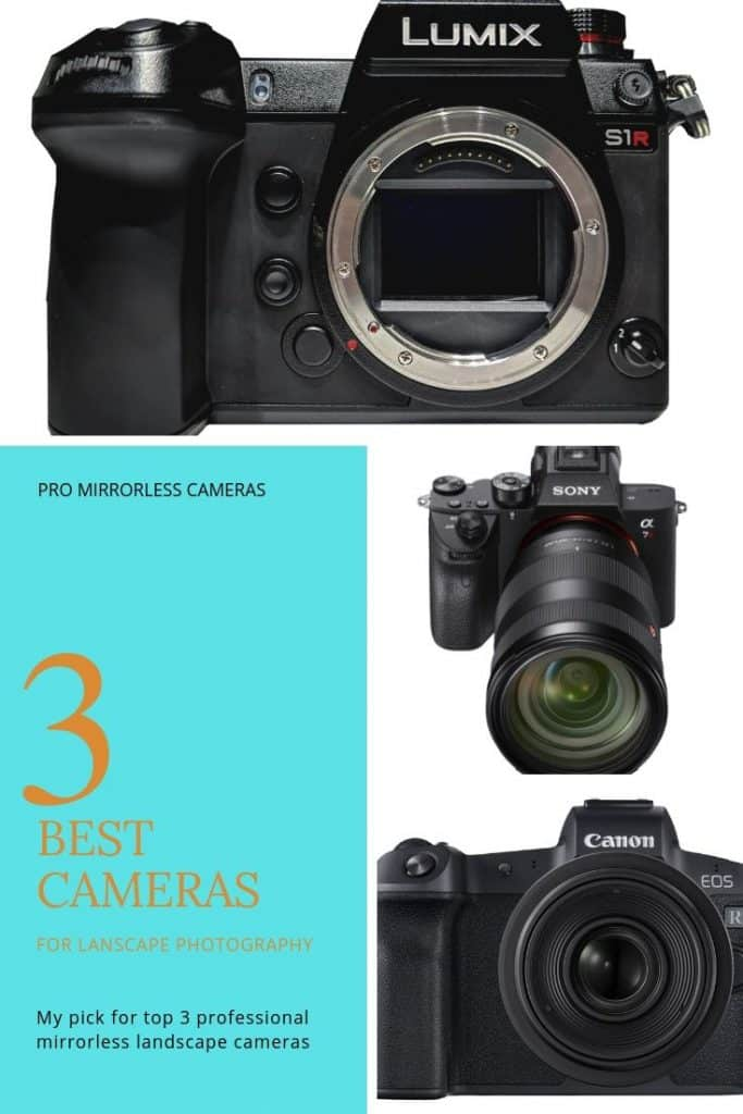 Top 3 Best mirrorless landscape cameras