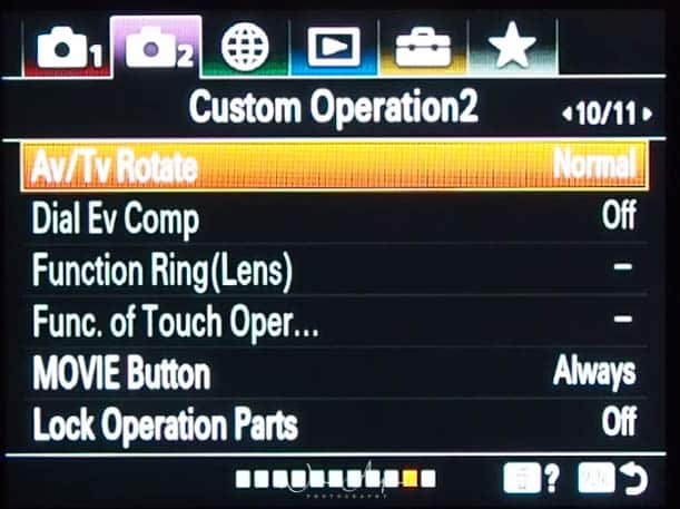 purple movie icon page 10 Custom operations settings page 2
