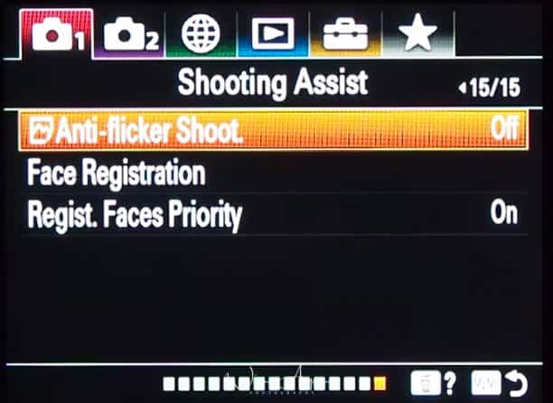 red camera icon page 15 Shooting Assist