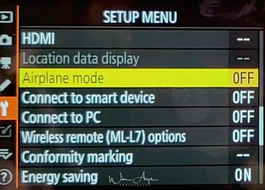 HDMI settings