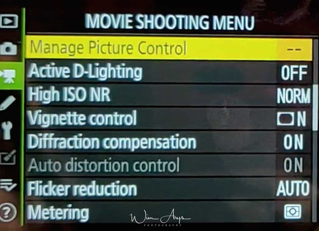 manage picture control