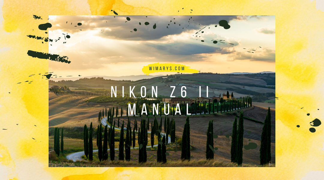 Nikon Z6 II advanced manual
